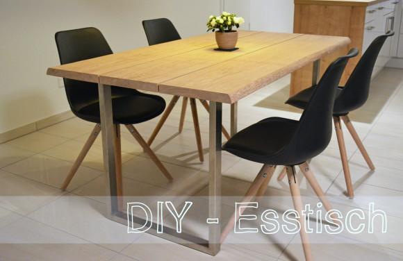 diy esstisch selber bauen meineschokoladenseite. Black Bedroom Furniture Sets. Home Design Ideas